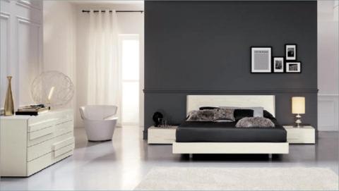 Camera letto Frassino Bianco
