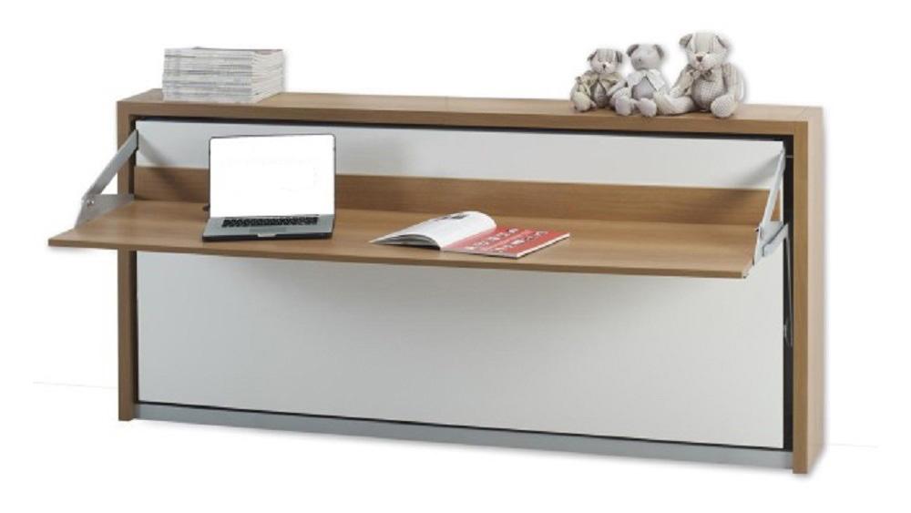 Letto trasformabile orizzontale af selezioni di arredamento for Letto scrivania