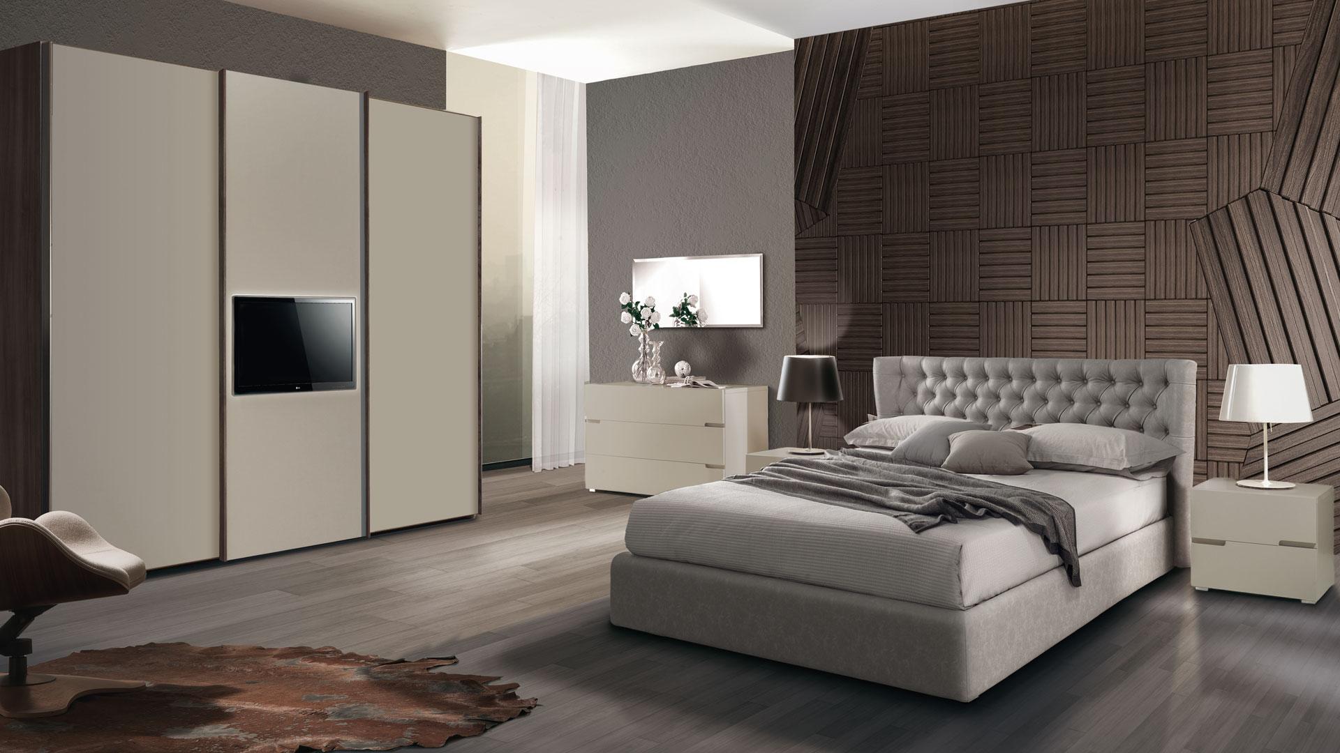 Camera letto manila af selezioni di arredamento for Camere da letto moderne marche