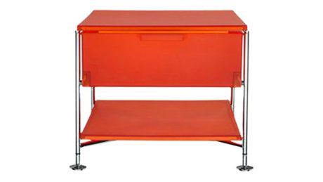 kartell-cassettiera-1-cassetto-arancio